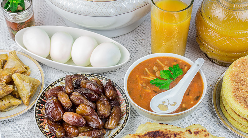 Moroccan Iftar meal / Shutterstock