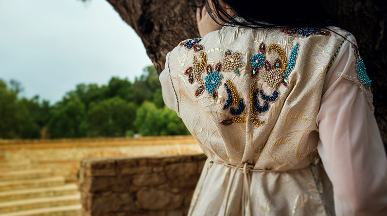 Traditional Moroccan dress / Shutterstock