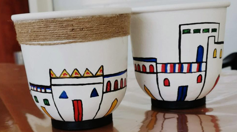 Decorated cups / Herfa Association