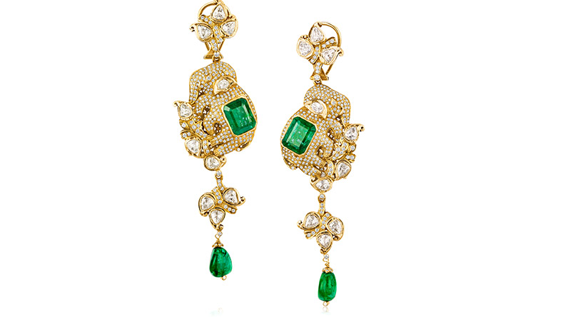 Elephant Earrings from Sanjay Kasliwal collection